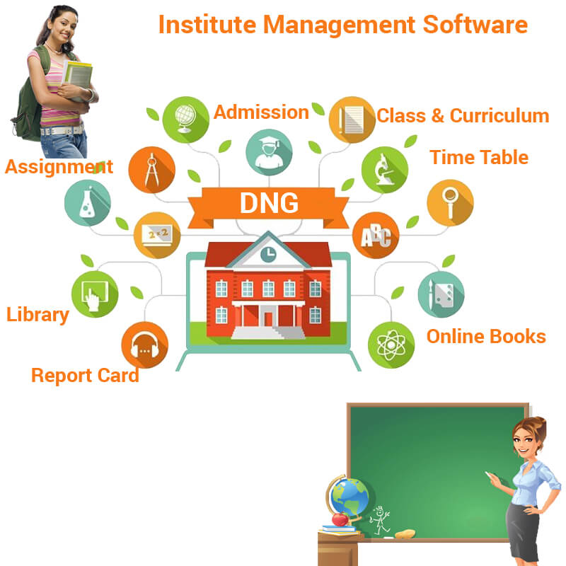 Educational Institute  Management Software In India
