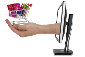 Online shopping website development